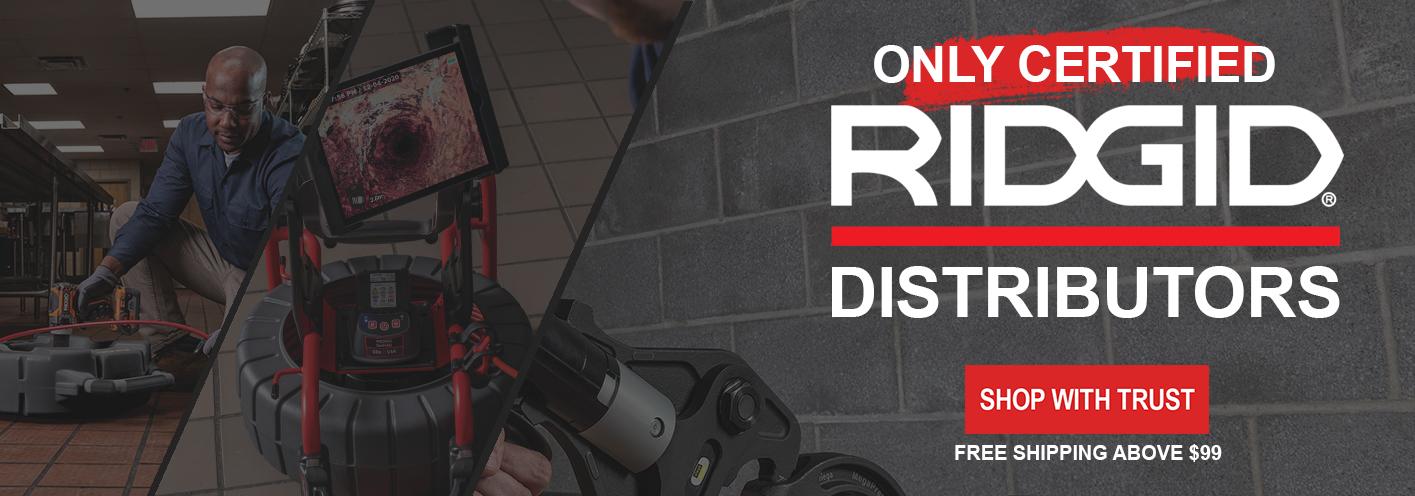 Certified Ridgid Distributor - Americatools